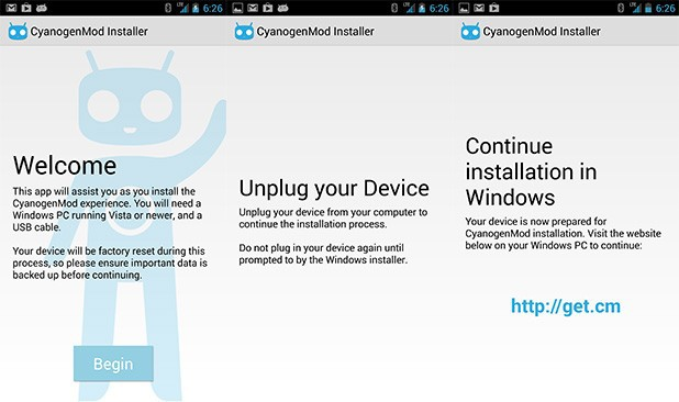 CyanogenMod Releases Desktop and Mobile App