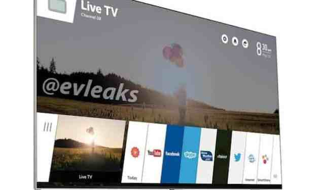 LG's new webOS Smart TV Leaked