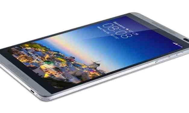 Huawei MediaPad M1 Initial Impression