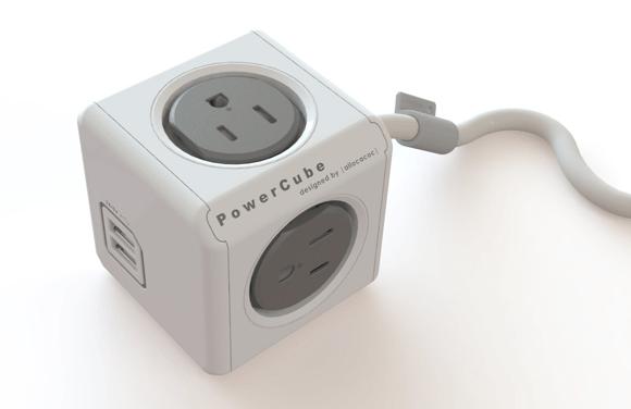 Allocacoc PowerCube Extended USB & Original review