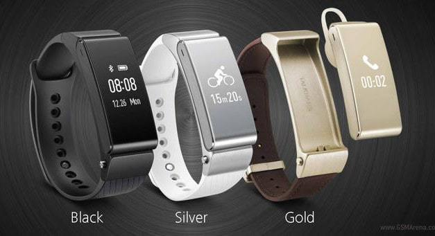 Huawei announce TalkBand B2  Bluetooth headset, music player & fitness tracker.