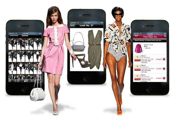 How the app world has taken over the fashion industry