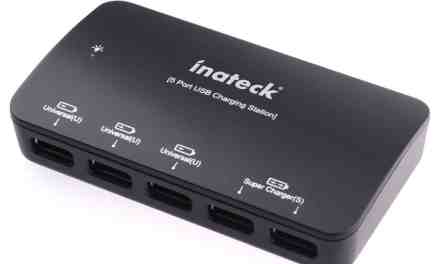 Mini Review: Inateck 5-Port 35W USB Desktop Charger