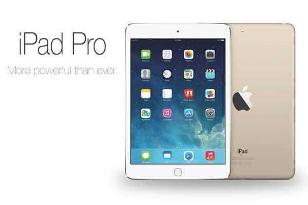 New 12.9-inch Apple iPad Pro Announced