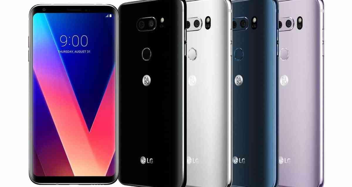 LG V30 launched @ IFA 2017