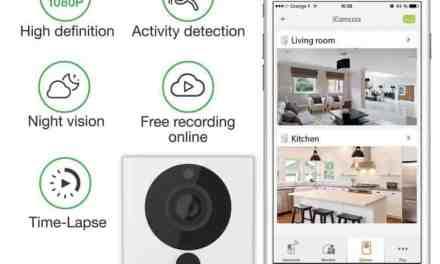 iSmartAlarm SPOT+ Indoor WiFi Security Camera Review ISC5P2