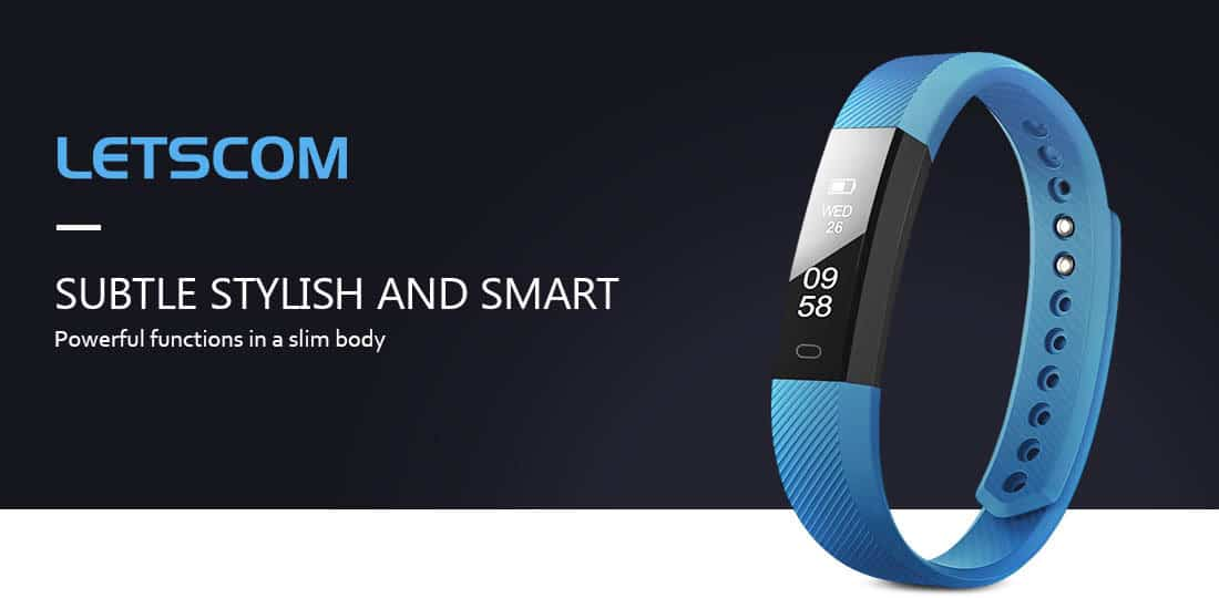 Letscom / MoreFit Slim Fitness Tracker Watch Review