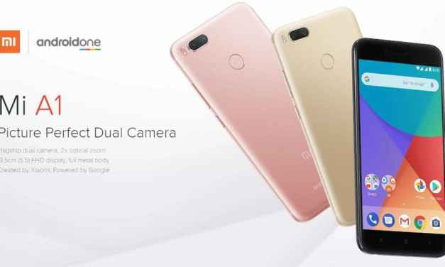 Xiaomi Mi A1 Android One Phone Review