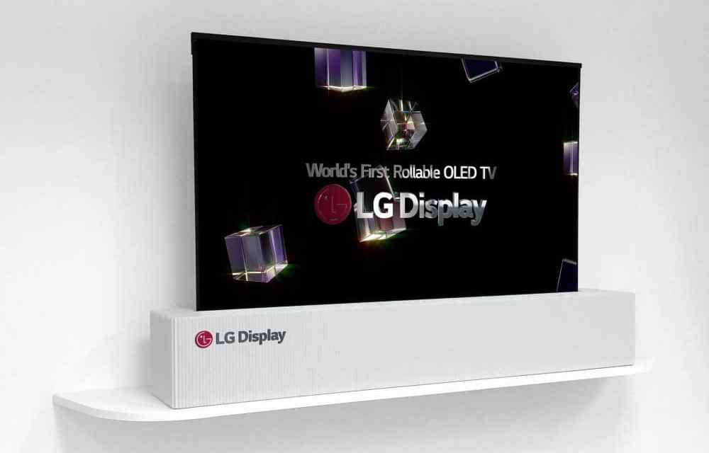 LG shows off 65-inch rollable OLED TV : CES 2018
