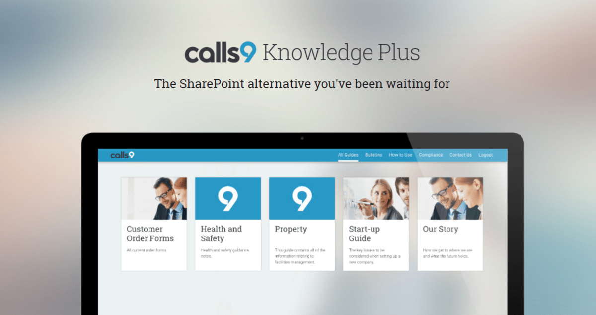 Call9 Knowledge Plus – Online Sharepoint Alternative