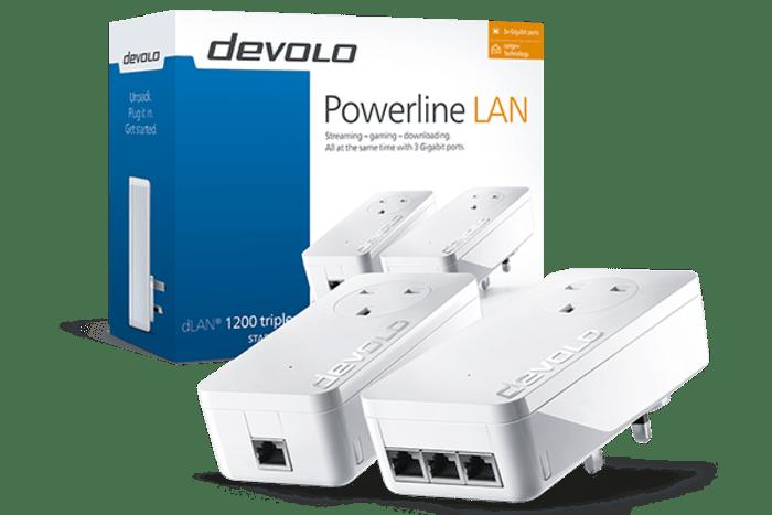 Devolo dLAN 1200 Triple+ Powerline Lan Review
