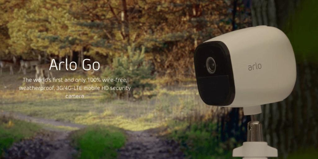 Netgear Arlo Go / V-Camera by Vodafone Review