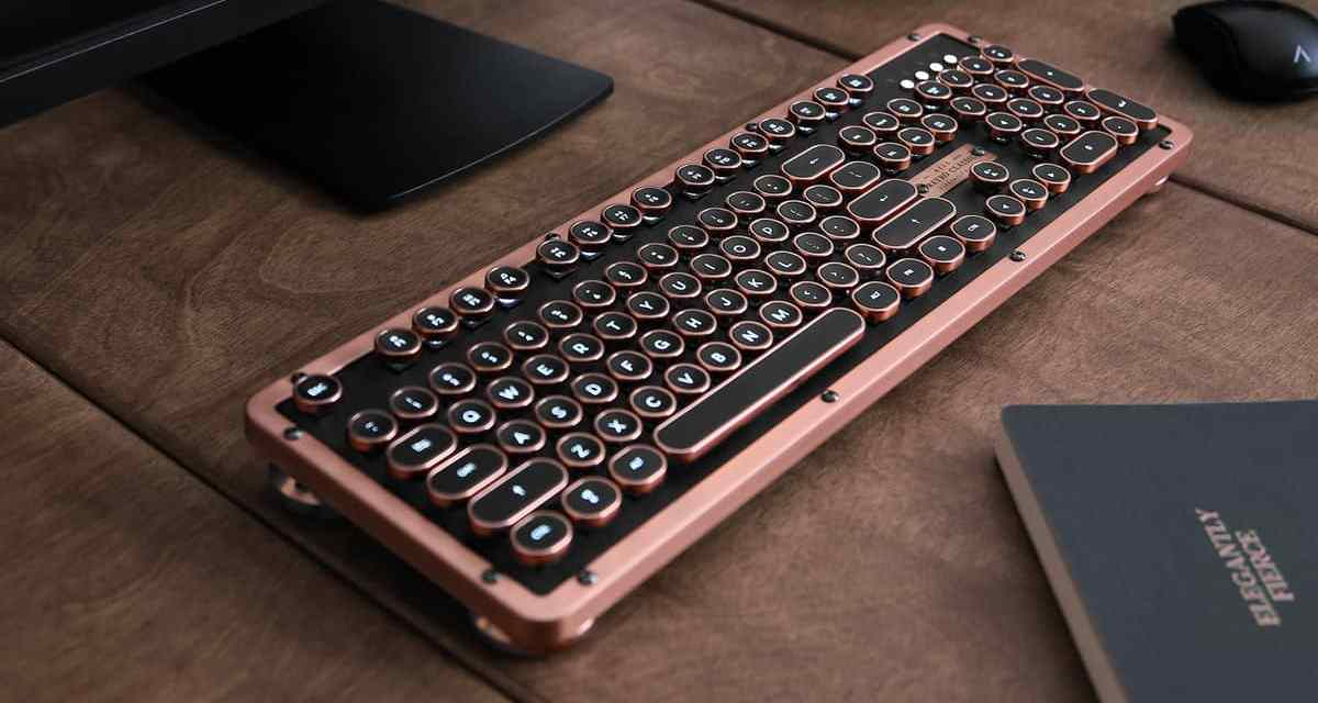 Azio Retro Classic Bluetooth Mechanical Keyboard Review