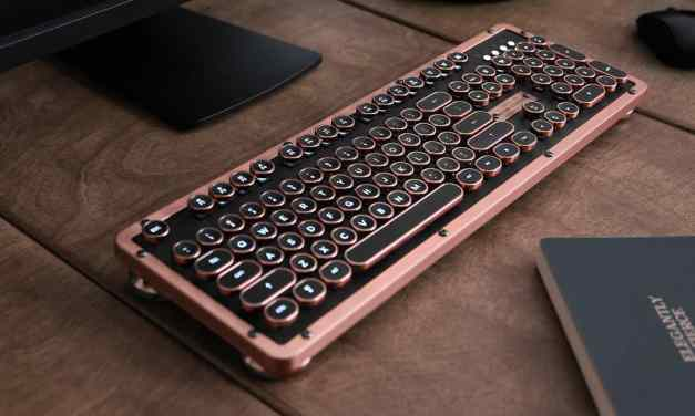 Azio Retro Classic Bluetooth Mechanical Keyboard Review