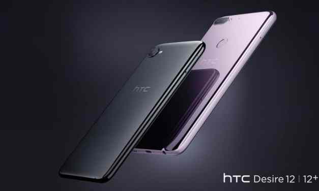 HTC Desire 12 Announced – Budget Android Oreo with edge-to-edge 18:9 screen