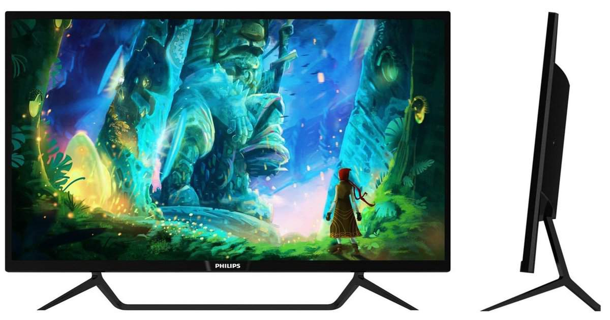 £699 Philips Momentum 43-inch 4K Adaptive Sync HDR Display Available in May rated at  DisplayHDR 1000