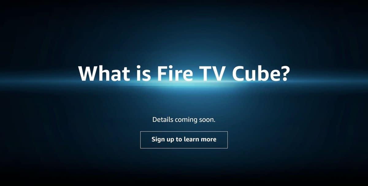 Amazon Fire TV Cube Confirmed – Fire TV-Echo Dot hybrid