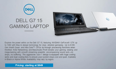 New Budget Gaming Dell G3, G5 & G7 Laptops Launched – i7-8750HQ – GTX 1060 Max-Q