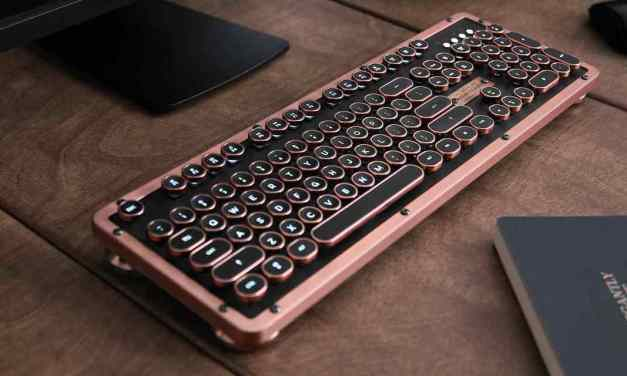 Win a Azio Retro Classic Bluetooth Mechanical Keyboard