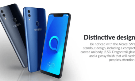 Alcatel 5V announced with 6.2-inch notched screen, dual rear cameras, 4,000 mAh battery