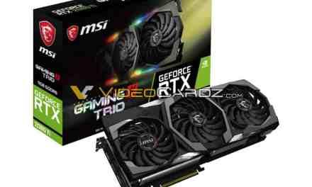 MSI NVIDIA GeForce RTX 2080 Ti 11 GB GDDR6 & RTX 2080 Gaming X Trio 8 GB GDDR6 Custom Graphics Card Leaked