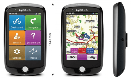Mio Cyclo 210 GPS Launched