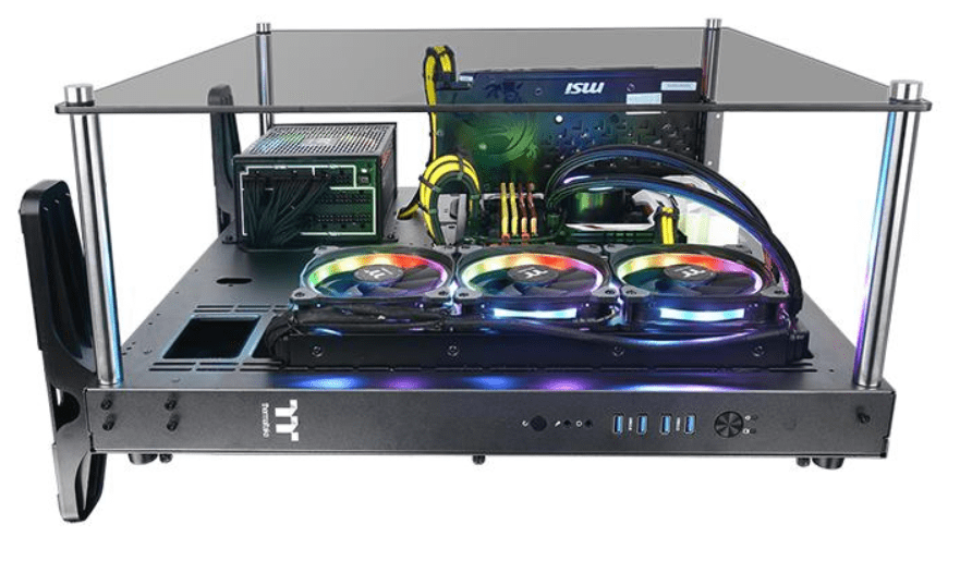 Thermaltake Core P5 Tempered Glass Ti Edition Review