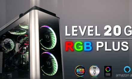 Thermaltake Level 20 GT RGB Plus Full Tower PC Case Review