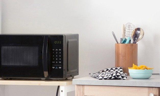 Alexa in everything: AmazonBasics Microwave & Amazon wall clock both feature Amazon Alexa