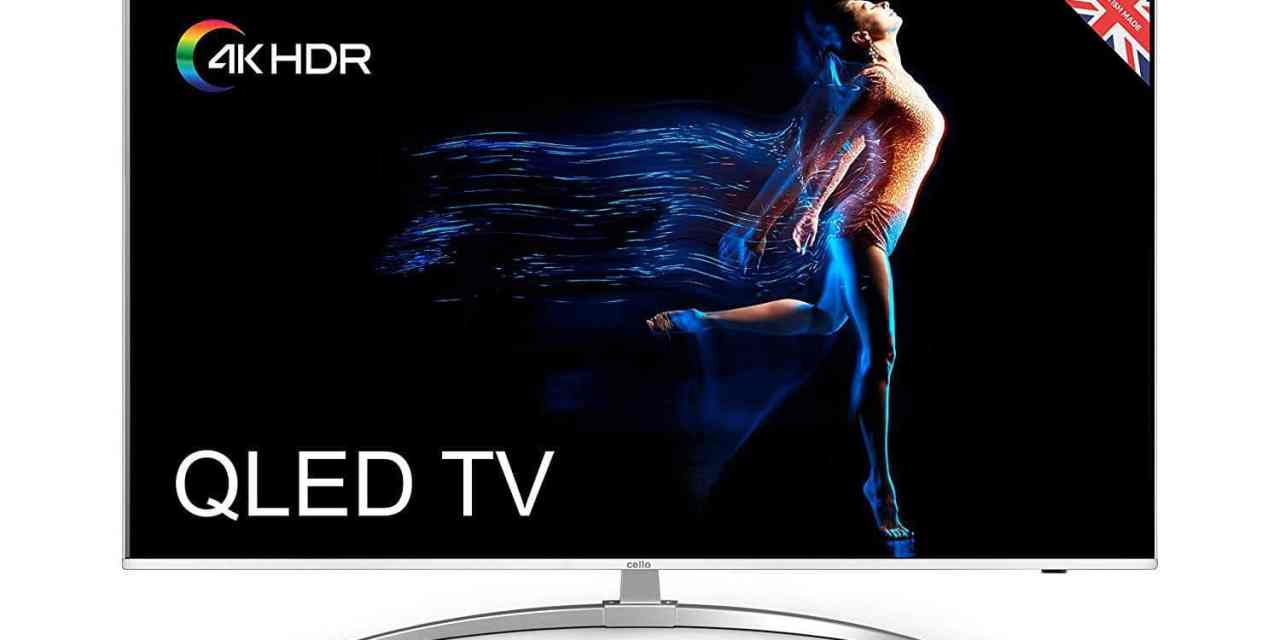 British TV company Cello launches 55-inch 4K Ultra HDR10 QLED TV with Android TV for just £799 – C55SFS