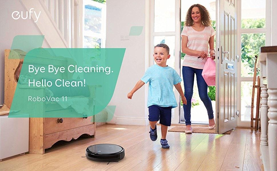 Eufy RoboVac 11 Robot Vacuum Cleaner Review