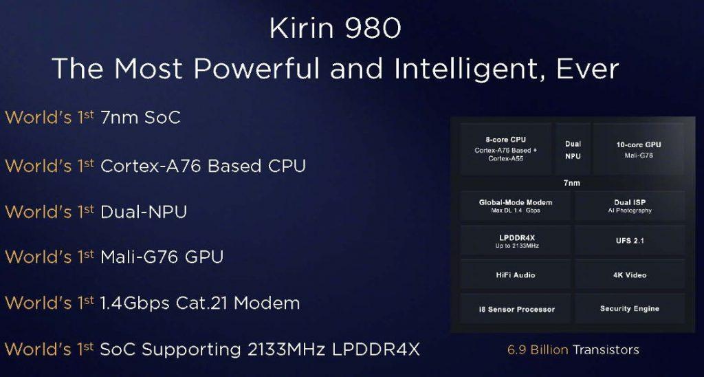 Huawei HiSilicon Kirin 980 vs Qualcomm Snapdragon 845 vs Samsung Exynos 9810
