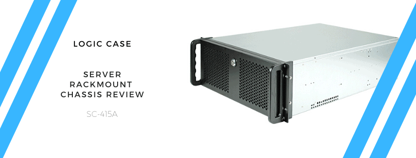 logic case 4u server rackmount chassis review a perfect plex server chassis on a budget sc 415a