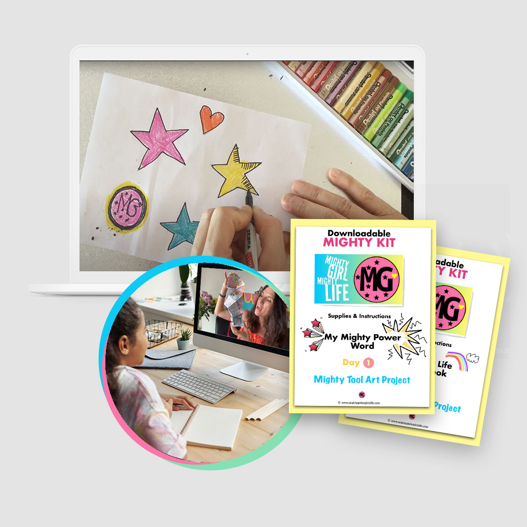 Mighty Girl Art Club Kits