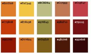 Color ideas, WordPress