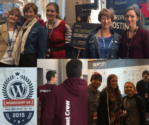 The Mighty team at WordCamp 2015!