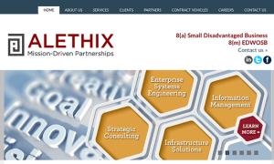 Alethix web design