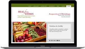Heal from within acupuncture website