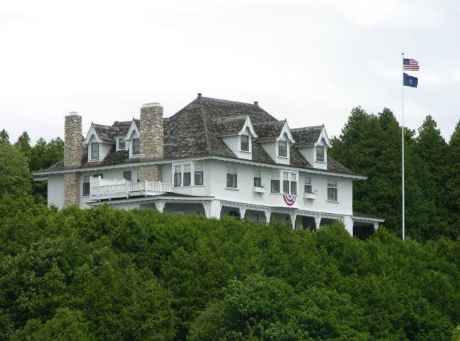 Island Mansion Governor Mackinac S