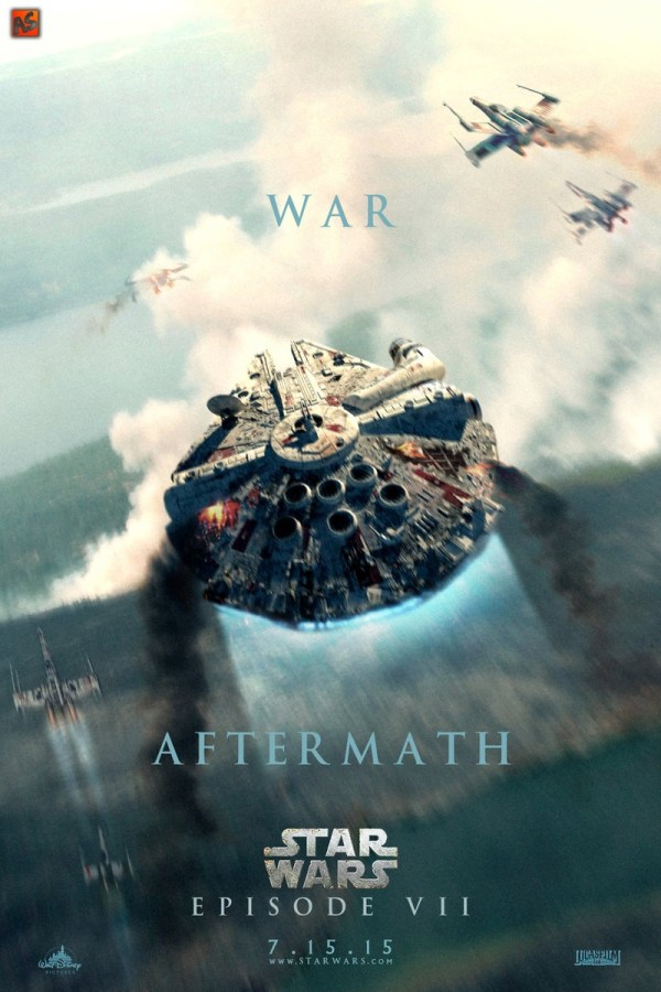 Awesome Fan Star Wars Episode Vii Posters - Mightymega