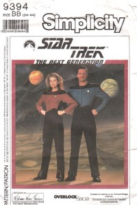 Star Trek TNG Costume Patterns: Retro Halloween - MightyMega