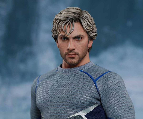 Hot Toys Avengers: Age Of Ultron Quicksilver Action Figure