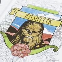 Star Wars Anti-Stress Coloring Book - MightyMega