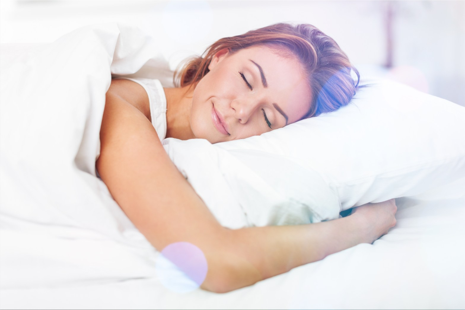 CBD for sleep woman