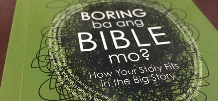 "Video Blog: ""Boring Ba ang Bible Mo?"" by Rei Lemuel Crizaldo"