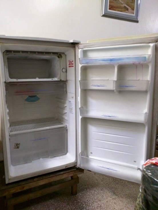 We sold this small refrigerator for P3,500 on Facebook. An hour after posting it, a friend of ours bought it.