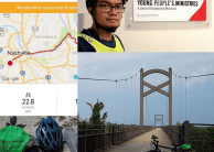 Support My 800-km Bike Ride for #80Days80K