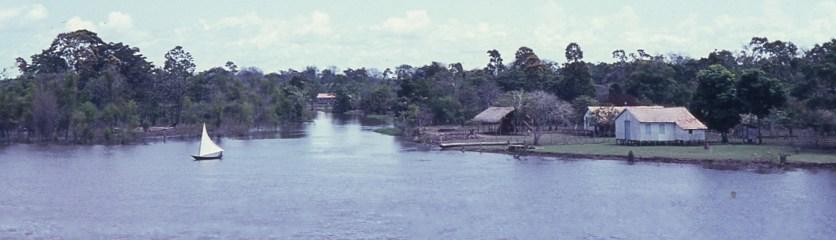 Small Amazon village