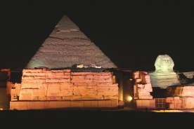 The Great Sphinx and the Pyramid of Khafre