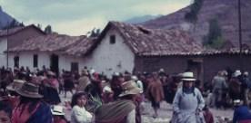 Pisco Market near Cusco